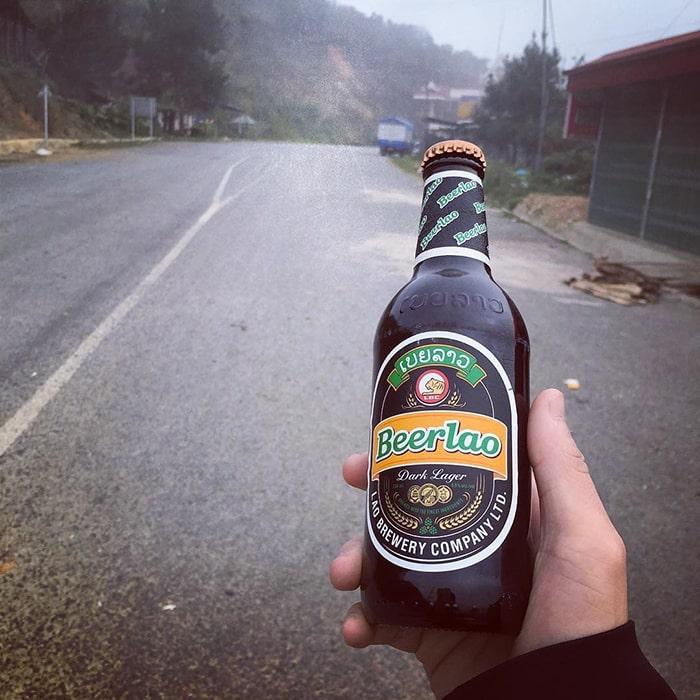 Bia của Lào