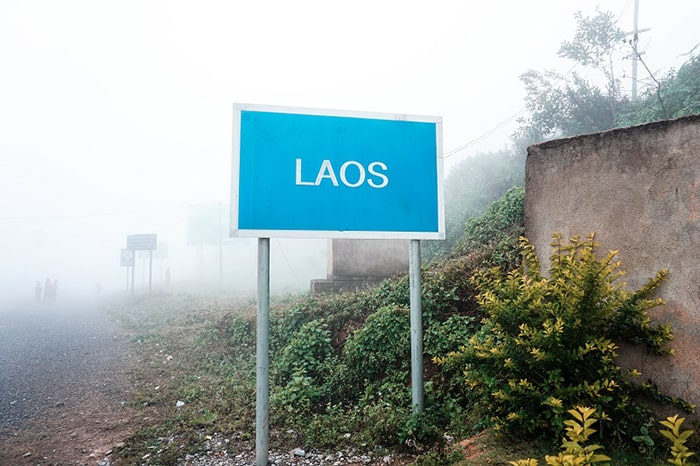 Địa phận nước bạn Lào