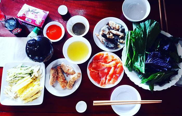 Những món ăn ngon ở bản Ba Phách