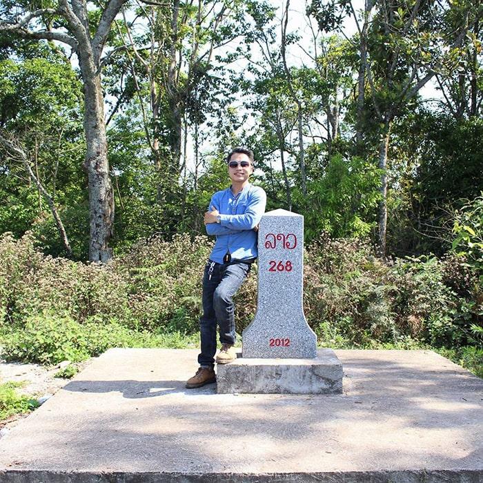 Cột mốc 268 Pha Luông