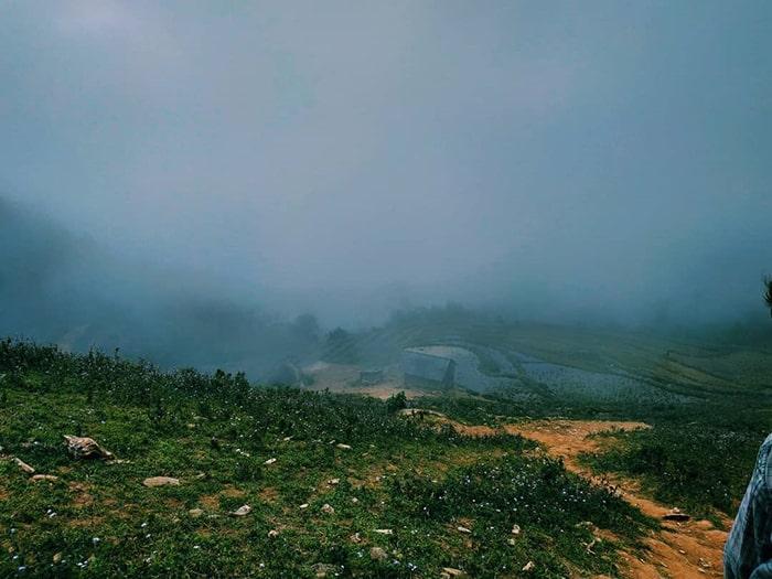 Đường trekking Pha Luông không quá khó khăn