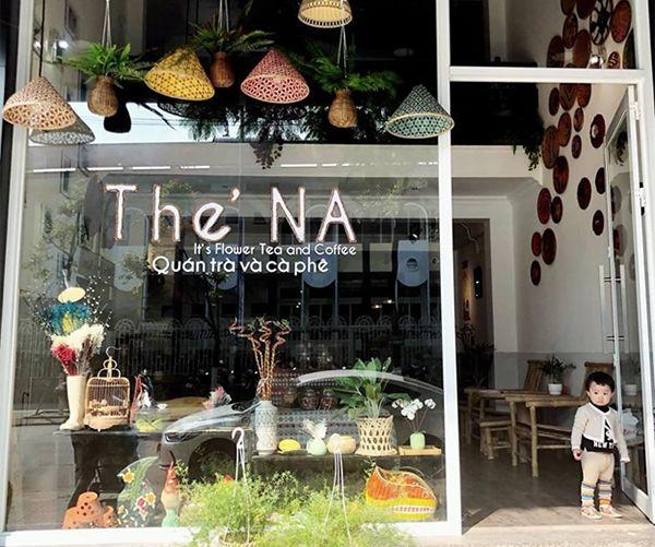 Quán cafe mang phong cách ấn tượng tại The' NA