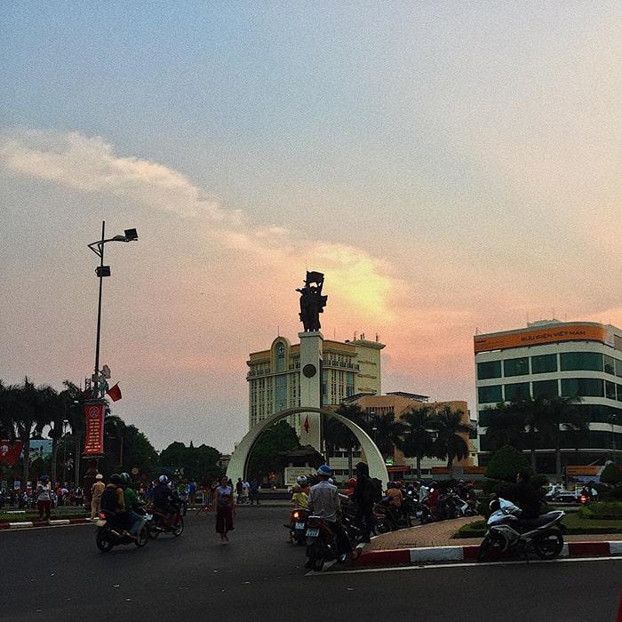 Trung tâm thành phố Buôn Mê Thuột