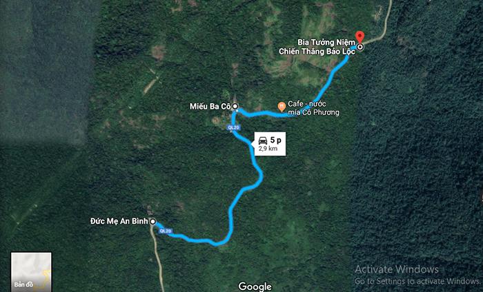 3 trạm nghỉ trên đèo Bảo Lộc