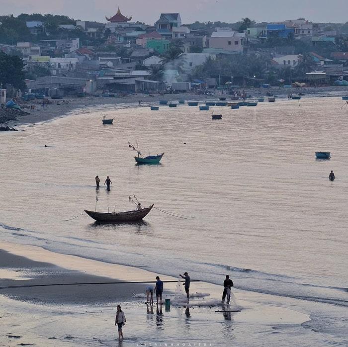 Bãi biển ở Bình Thuận