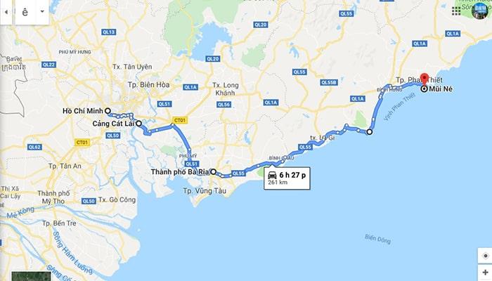 Cung đường ven biển Sài Gòn đi Mũi Né