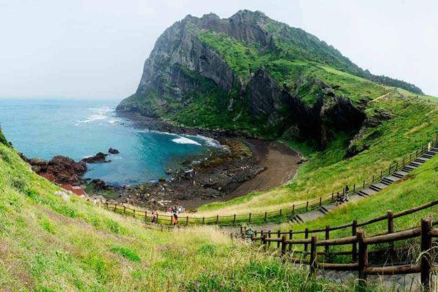 Một khung cảnh phim trường tại đảo Jeju