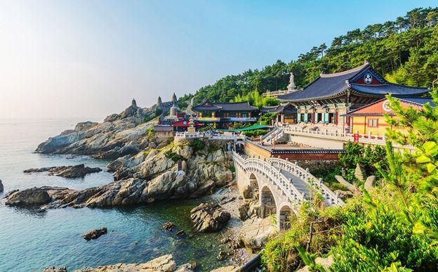 ChùaHaedong Yonggungsa ở Busan - điểm thu hút du khách Việt