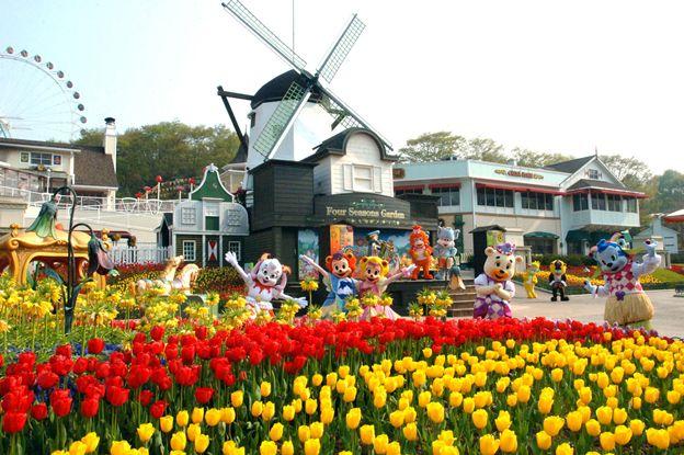 Công viênEverland được xây dựng bởi tập đoàn Samsung