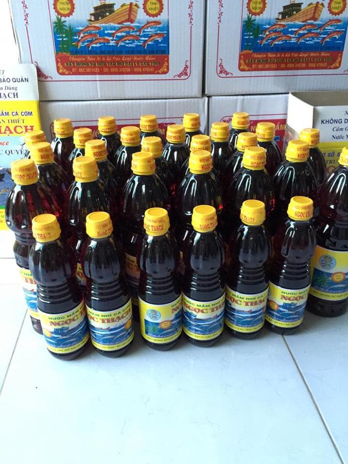Đặc sản nước mắm Phan Thiết, Bình Thuận