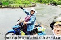 Kinh nghiệm đi phượt 300km Sài Gòn - Đà Lạt an toàn, chi tiết