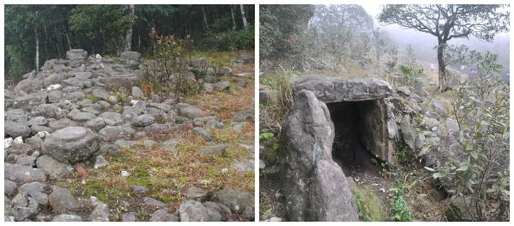 Linh địa cổ Mẫu Sơn, Hầm mộ đá điểm du lịch Mẫu Sơn tiếp theo