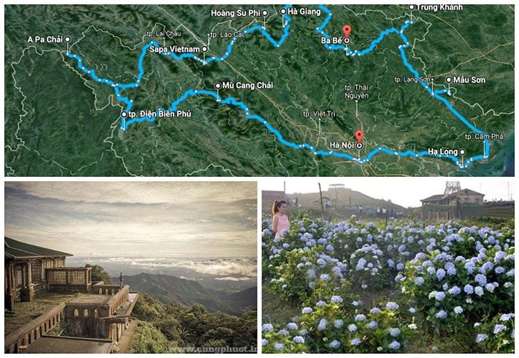 Đến được Mẫu Sơn bạn cần trải qua 10km đường đồi núi