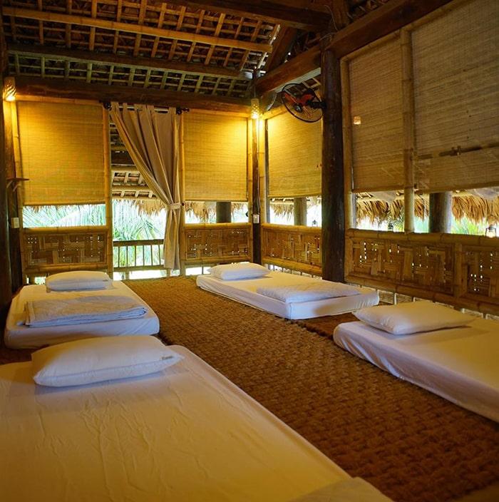Không gian phòng ngủ của Mũi Né Xưa Hostel