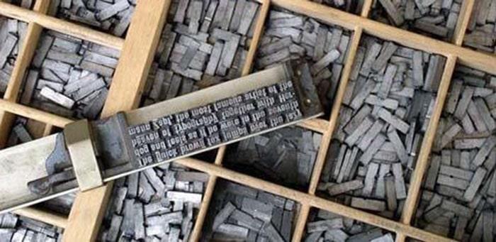 Công nghệ in Typo