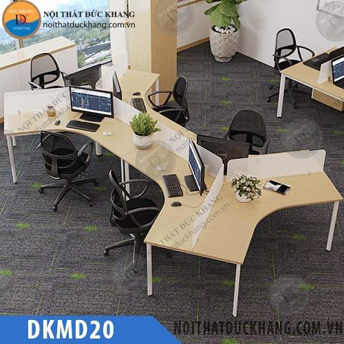 Cụm bàn làm việc 6 chỗ DKMD20