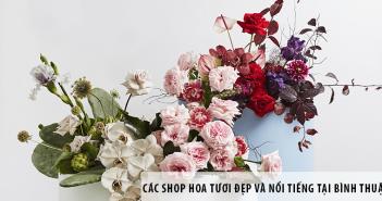 Các shop hoa tươi đẹp và nổi tiếng tại Bình Thuận