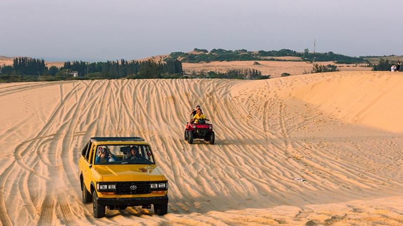 Chú ý những điều trên nếu ghé thăm đồi cát bay Bình Thuận