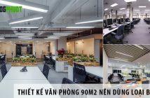 Thiết kế văn phòng 90m2 nên dùng bàn làm việc nào?