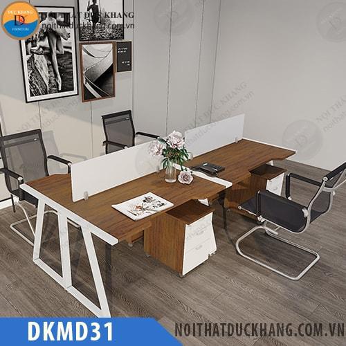 Cụm bàn làm việc 4 chỗ DKMD31