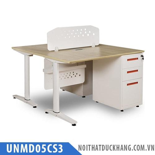 Cụm bàn làm việc 2 chỗ UNMD05CS3