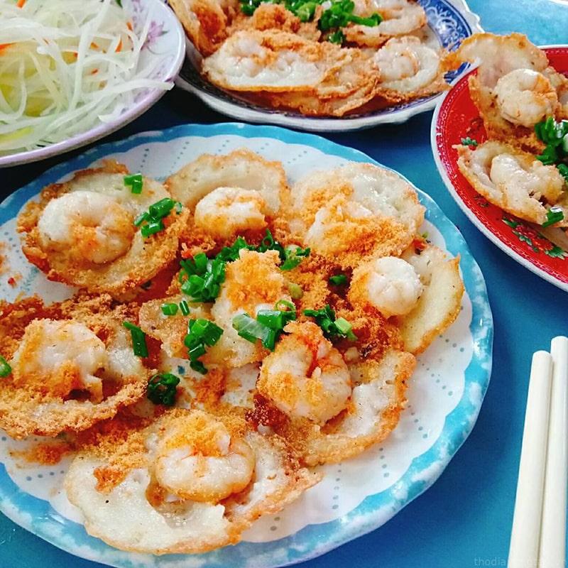 Món bánh Khọt giòn rụm tại Vũng Tàu