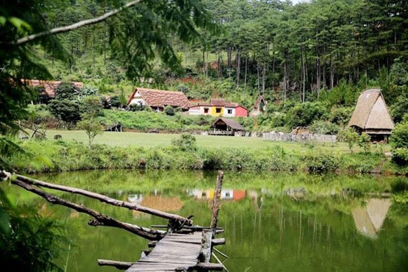 Ngôi làng Cù Lần yên bình giữa lòng Đà Lạt