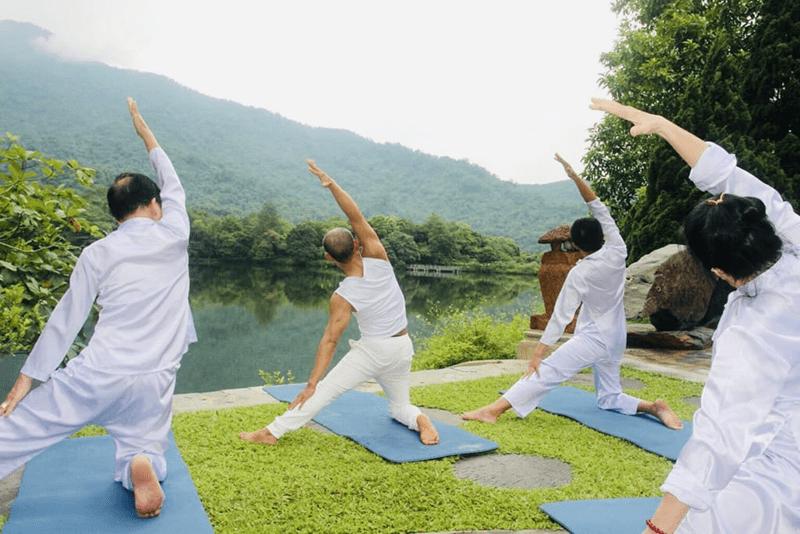 Những hoạt động chăm sóc sức khỏe trong tour du lịch chữa lành
