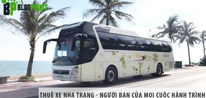 Thuê xe Nha Trang - Người bạn của mọi cuộc hành trình